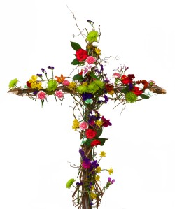 Floral Cross Easter 2013